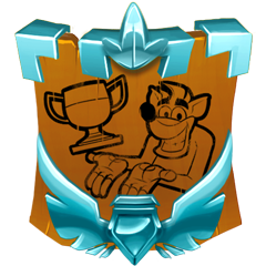 Image result for crash bandicoot platinum trophy