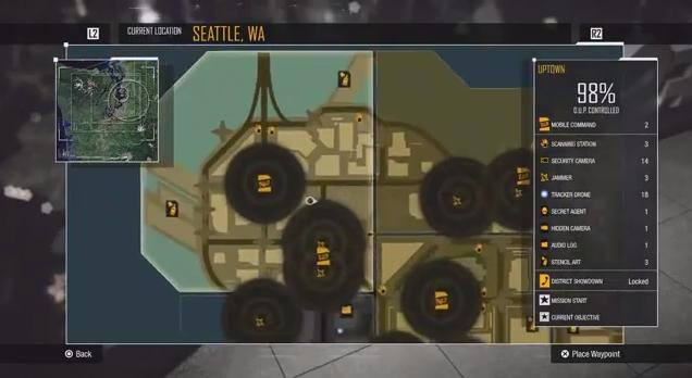 inFamous Second Son Trophy Guide • PSNProfiles.com on infamous blast shard map, infamous second son queen anne map, infamous second son seattle flag, infamous second son district map, minecraft seattle map, infamous second son city map, infamous 2 map, seattle science center map, infamous second son game map,
