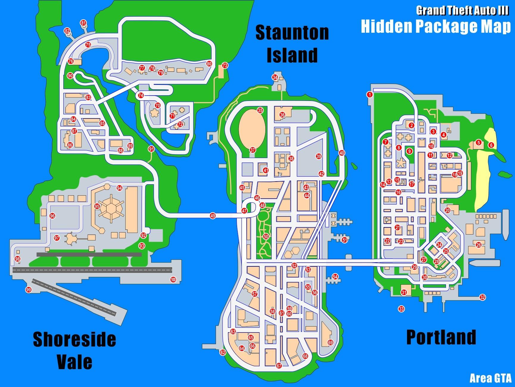Gta 5 map poster