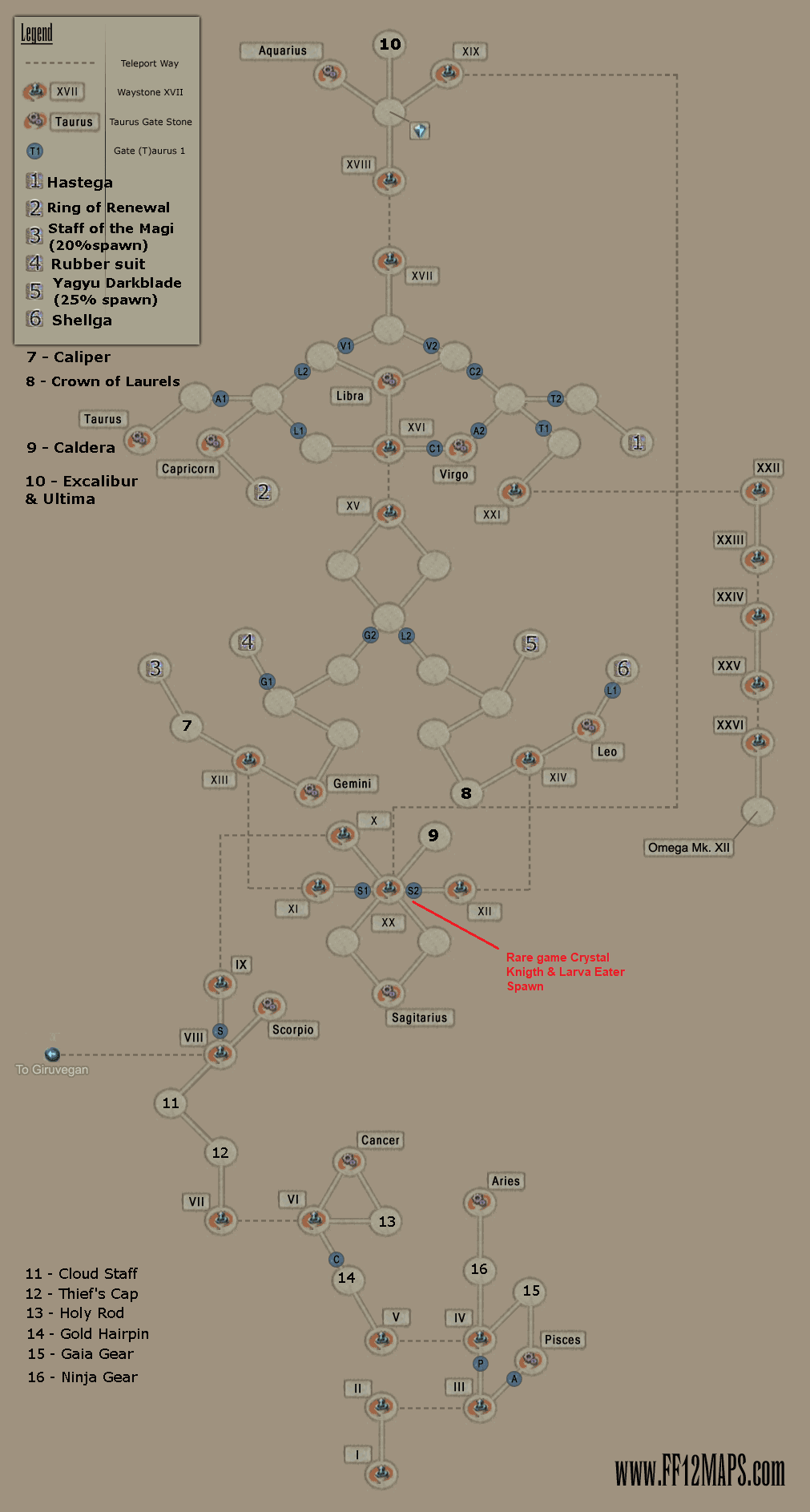 Final Fantasy XII: The Zodiac Age Trophy Guide • PSNProfiles com