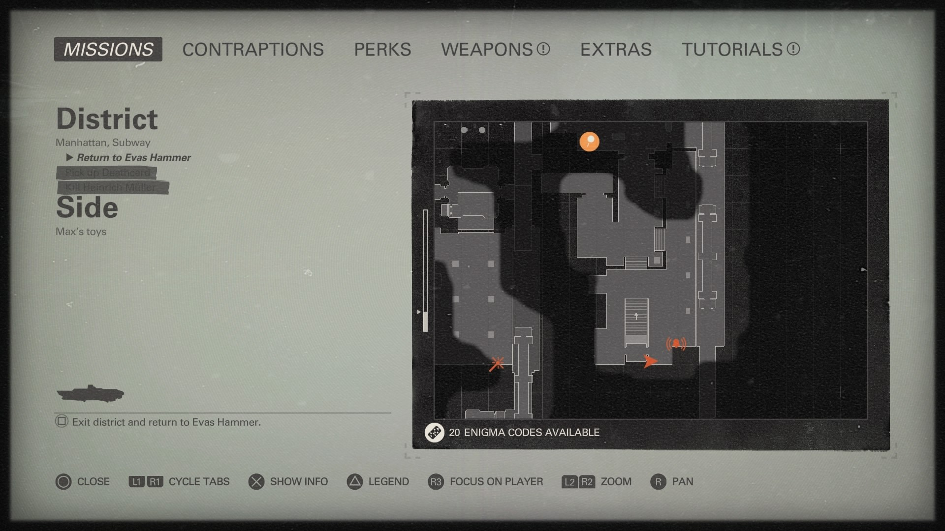 Wolfenstein 2 Subway Map.Wolfenstein Ii The New Colossus Collectibles Guide Psnprofiles Com