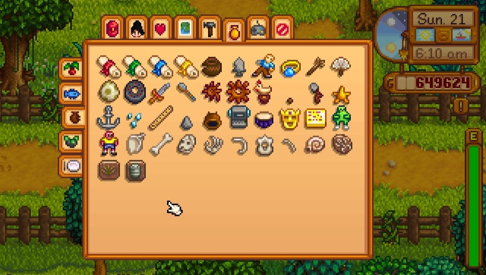 A Complete Collection Trophy Stardew Valley Psnprofiles Com I fished one of these things out of the river and i wondered can i put this in my incubator? as it turns out, i can. a complete collection trophy stardew