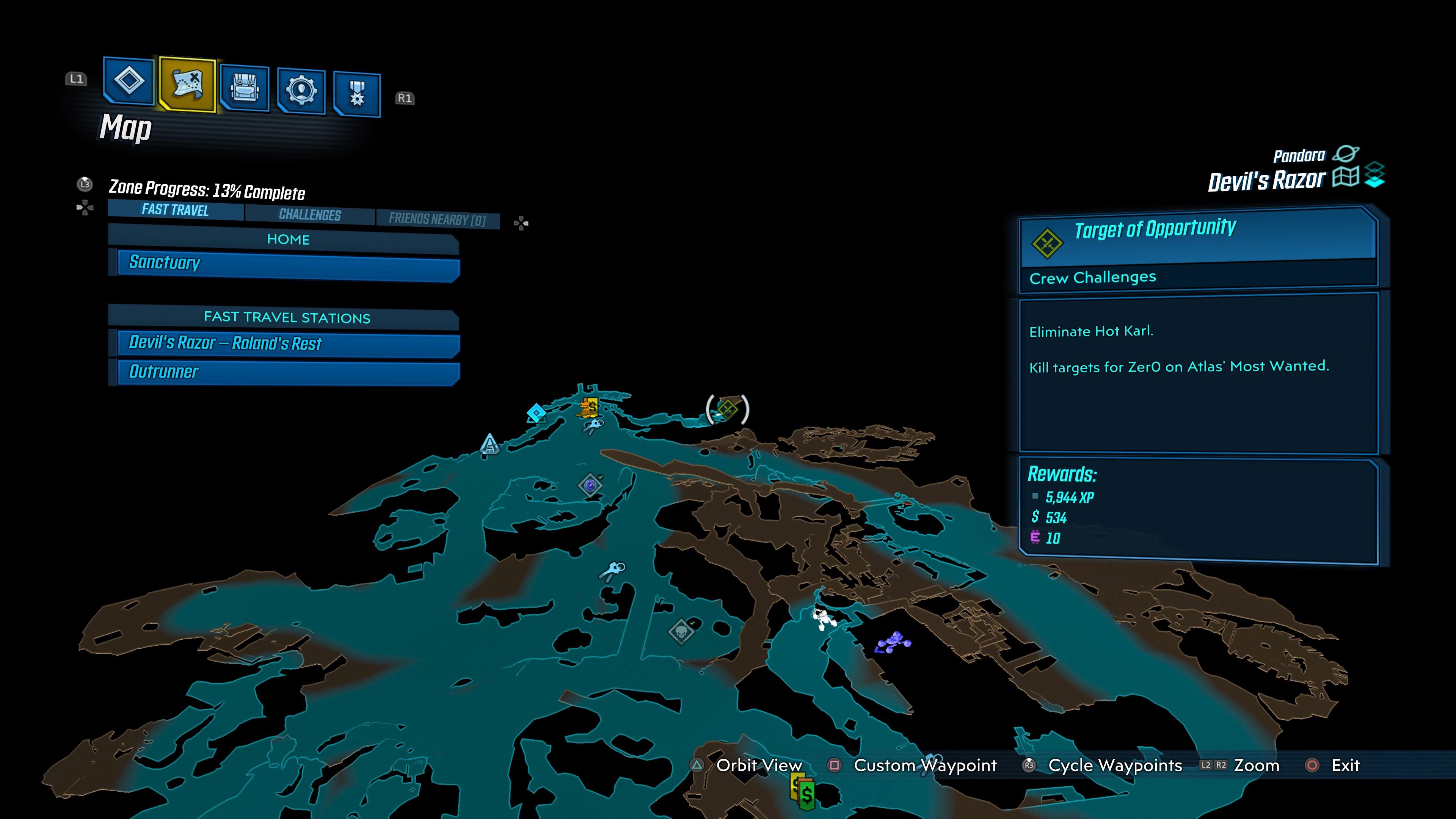 Zer0ed In Trophy Borderlands 3 Psnprofiles Com